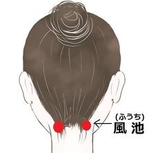 後頭部 目の疲れ用 (2)
