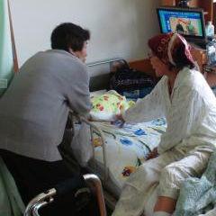 入院中の祖母