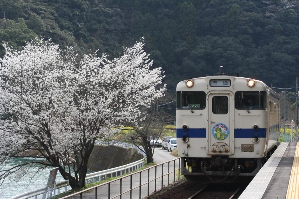 吉尾駅にて : トライランダーの...