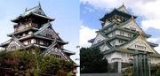 大阪城比較