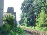 三国湊の鉄道交差地点