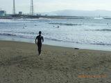 サンセットビーチはサーフィンのシーズン