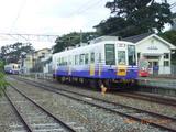 終点の三国港駅