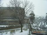 三国湊は冬景色