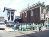 三国湊の小学生の国民文化祭巡り