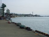 三国湊の三国港