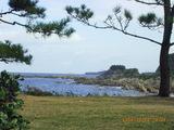 越前海岸鉾島付近より雄島を望む