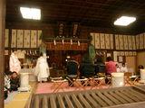 三国神社の拝殿