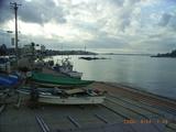 秋の三国港