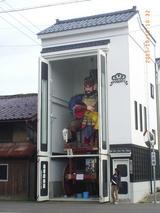 三国湊の松ヶ下山車収納蔵