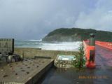 雄島の波浪