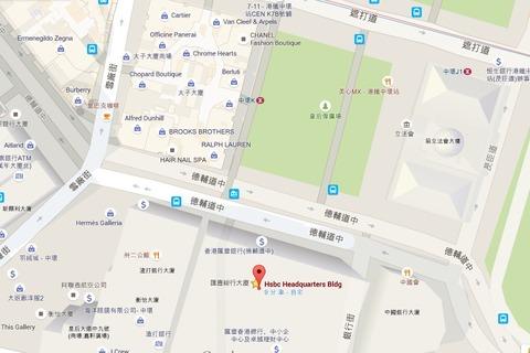 HSBC map