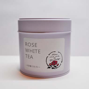 ROSE WHITE TEA-缶