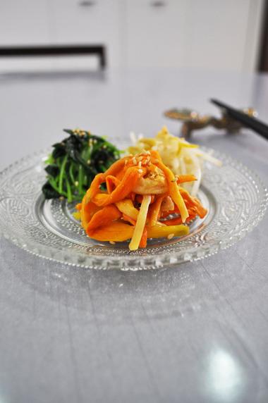 金針菜のナムル