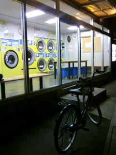 ここの洗濯機は高回転型ユニット搭載