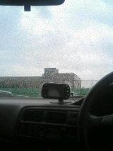 雨の日のドライブも乙なもの