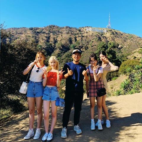 こないだまで表参道すら行ったことない子がハリウッドに居るの草w