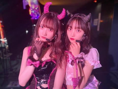 【どちらがお好み?】NMB48とSKE48の次世代メン「わるきー」比較画像がこちら