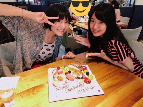 【悲報】元選抜常連メンバーの誕生会が質素