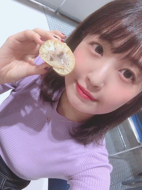 エターナルヒロイン・惣田紗莉渚さん、自分のおもちをアピールしつつあんまきをみなさんへお届け!