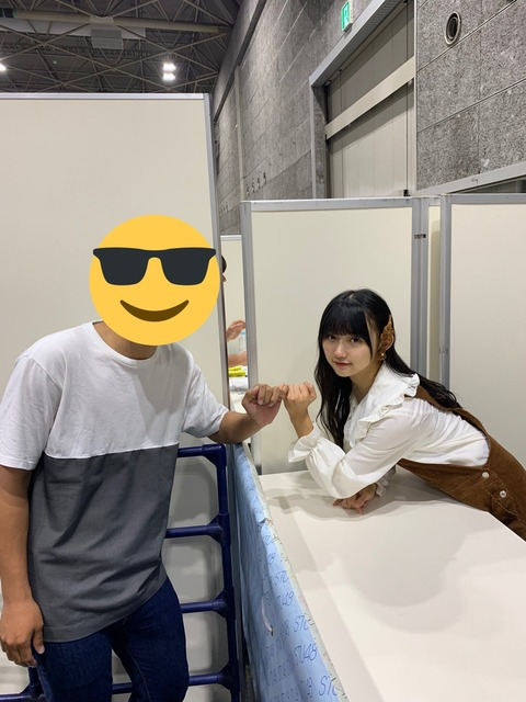 【炎上】STU48門脇実優菜さん、写メ会で指切り撮影しルール違反だと批判殺到wwwwwwwwwwwwwwww