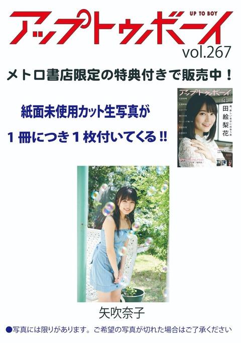 【画像アリ】メトロ書店限定特典の奈子ちゃんが可愛い【HKT48】