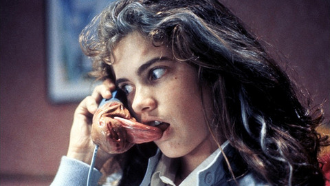 Heather langenkamp a nightmare on elm street nip slip