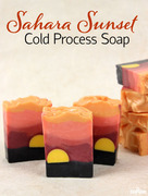 Sahara-Sunset-Cold-Process-Soap-Tutorial