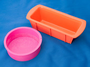既成品せっけん容器オレンジ・ピンク