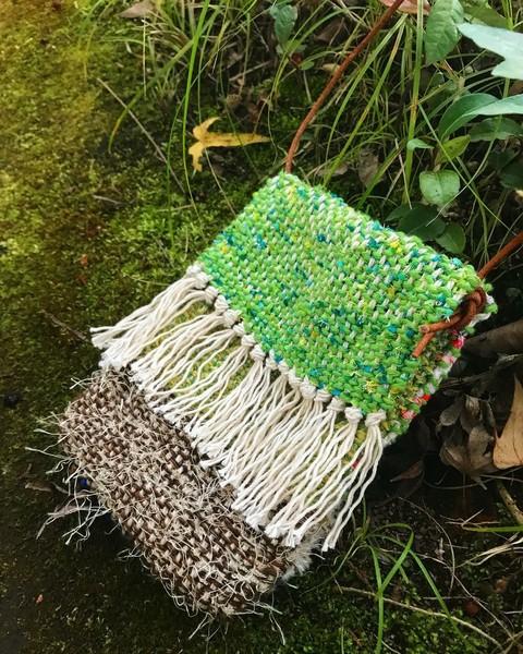 初手織り体験