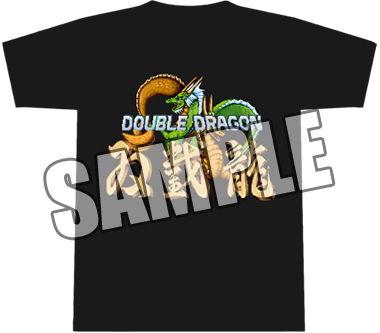 ダブルドラゴン-Tシャツ