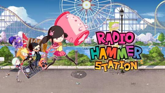 ラジオハンマーステーション メインヴィジュアル