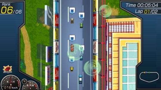 ガチャレーシング2nd ゲーム画像 マシンアクション