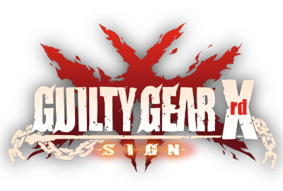 GUILTY GEAR Xrd SIGN タイトルロゴ