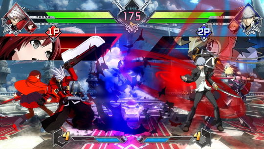 BLAZBLUE CROSS TAGBATTLE 画像1