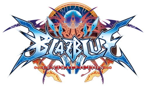 BLAZBLUE CENTRALFICTION タイトルロゴ