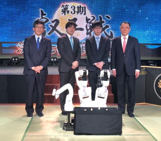叡王戦 記者発表会