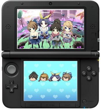 3DS テーマイメージ図