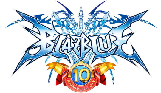 BLAZBLUE 10th ANNIVERSARY ロゴ