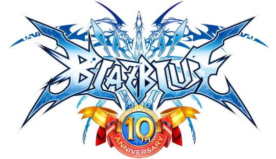 BLAZBLUE 10th ANNIVERSARY ロゴ