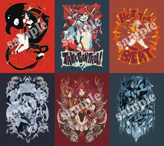 「BLAZBLUE」Eighty Sixed製Tシャツ