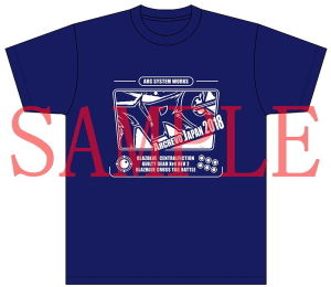 ARCREVO Japan 2018 オリジナルTシャツ