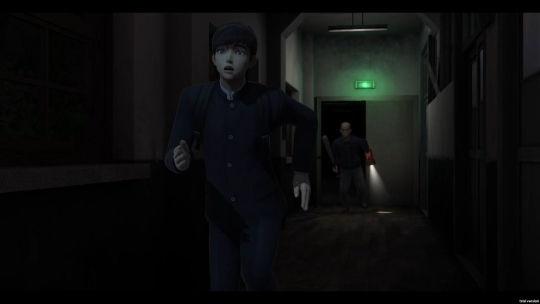 学校という名の迷宮 ゲーム画面 01