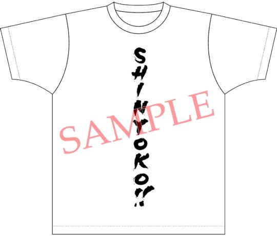 物販ラインナップ T-シャツ SINYOKO