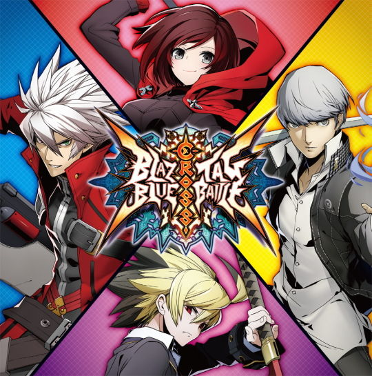 BLAZBLUE CROSS TAG BATTLE メインイメージ
