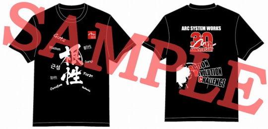 30周年記念Tシャツ黒