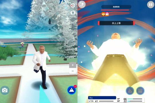 高須院長ゲーム画面