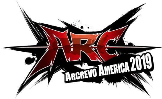 ARCREVO AMERICA 2019 ロゴ