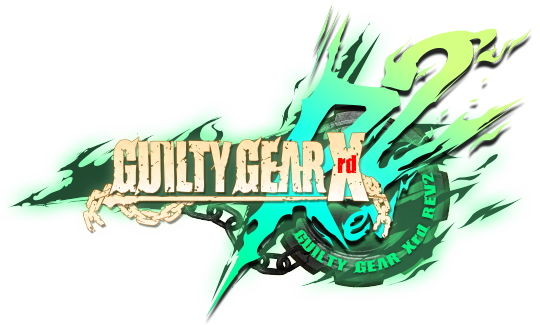 GUILTY GEAR Xrd REV 2 タイトルロゴ