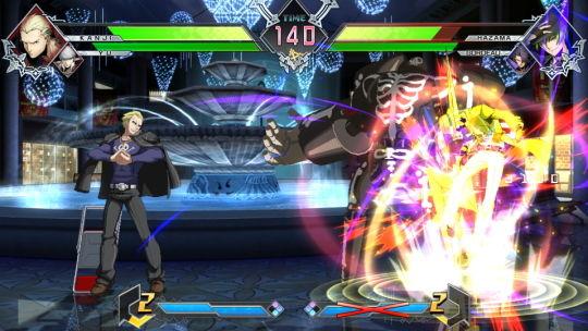 BLAZBLUE CROSS TAG BATTLE 新ゲーム画像